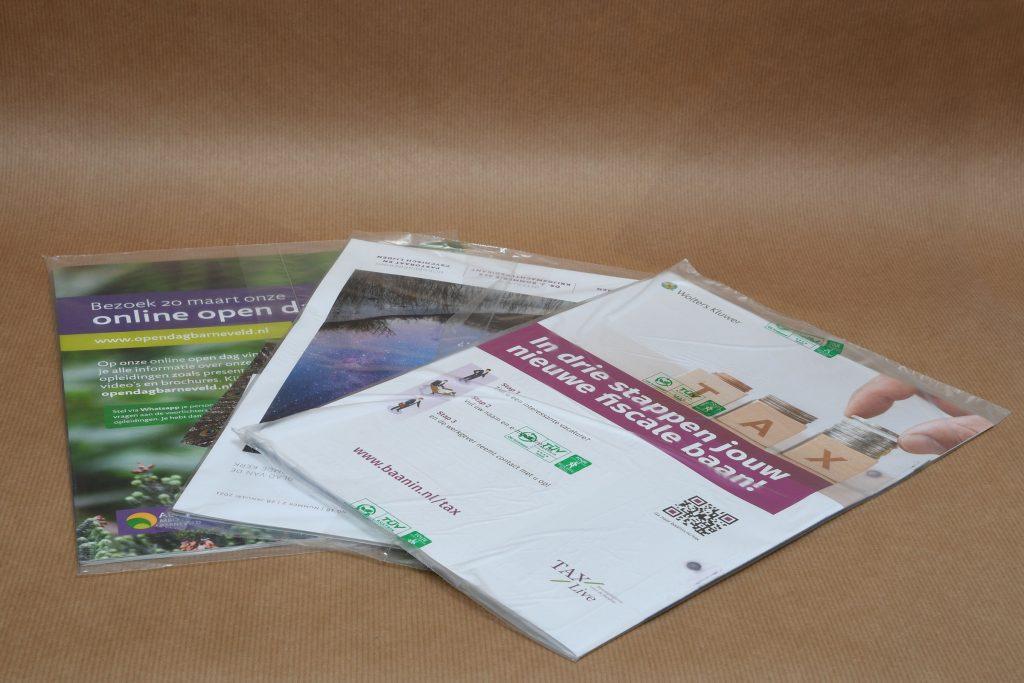 Sealen voor postverwerking